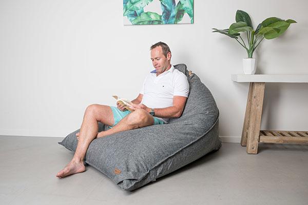 Large Triangle Bean Bag Komfort | Mooi Living