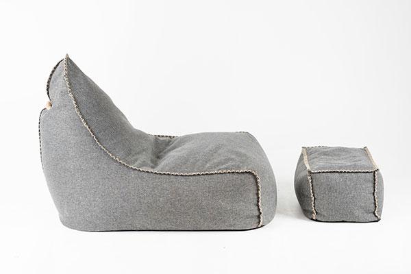 Mooi Living | Chair & Ottomon