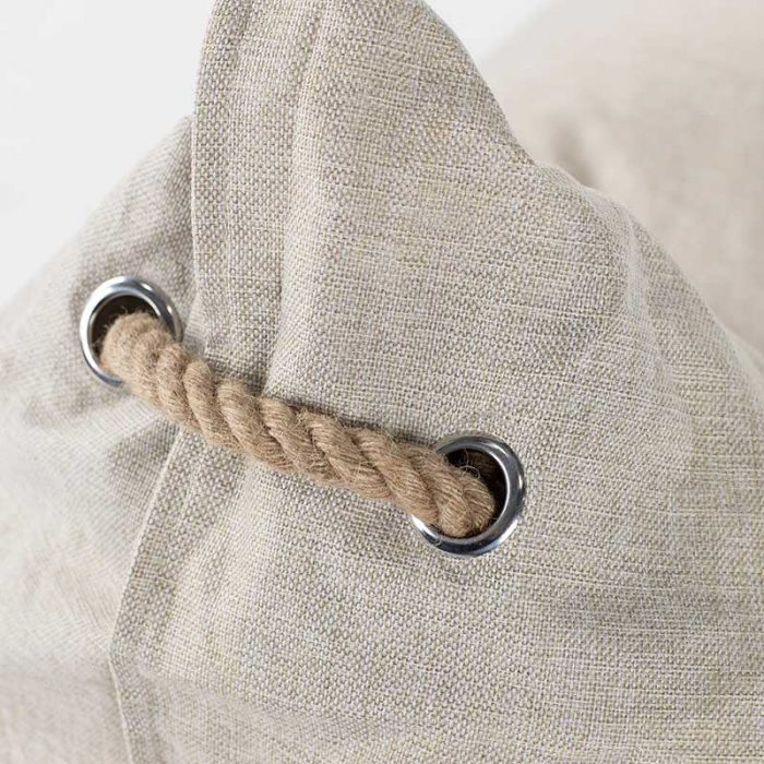 Komfort Triangle Bean Bag   Beige   Mooi Living