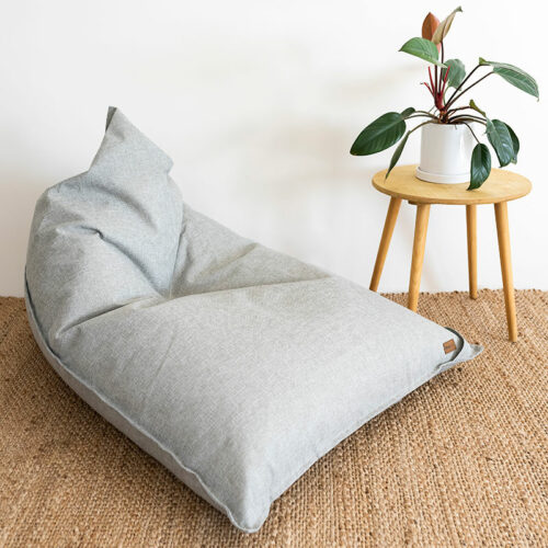 Komfort Triangle Bean Bag | Grey | Mooi Living