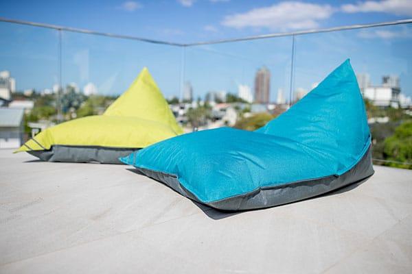 Unplug Triangular Beanbag   Mooi Living Homewares