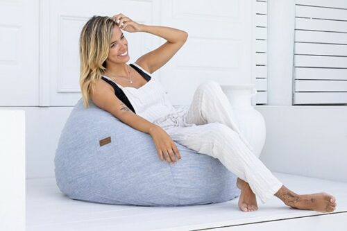 Coastal Teardrop Bean Bag | Mooi Living