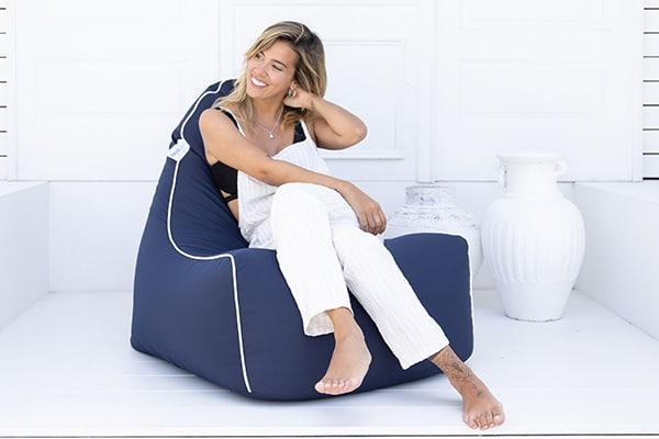 Serenity Chair Navy | Mooi Living