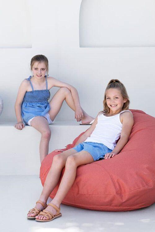 Mini Pods Terracotta - Kids Outdoor Bean Bags