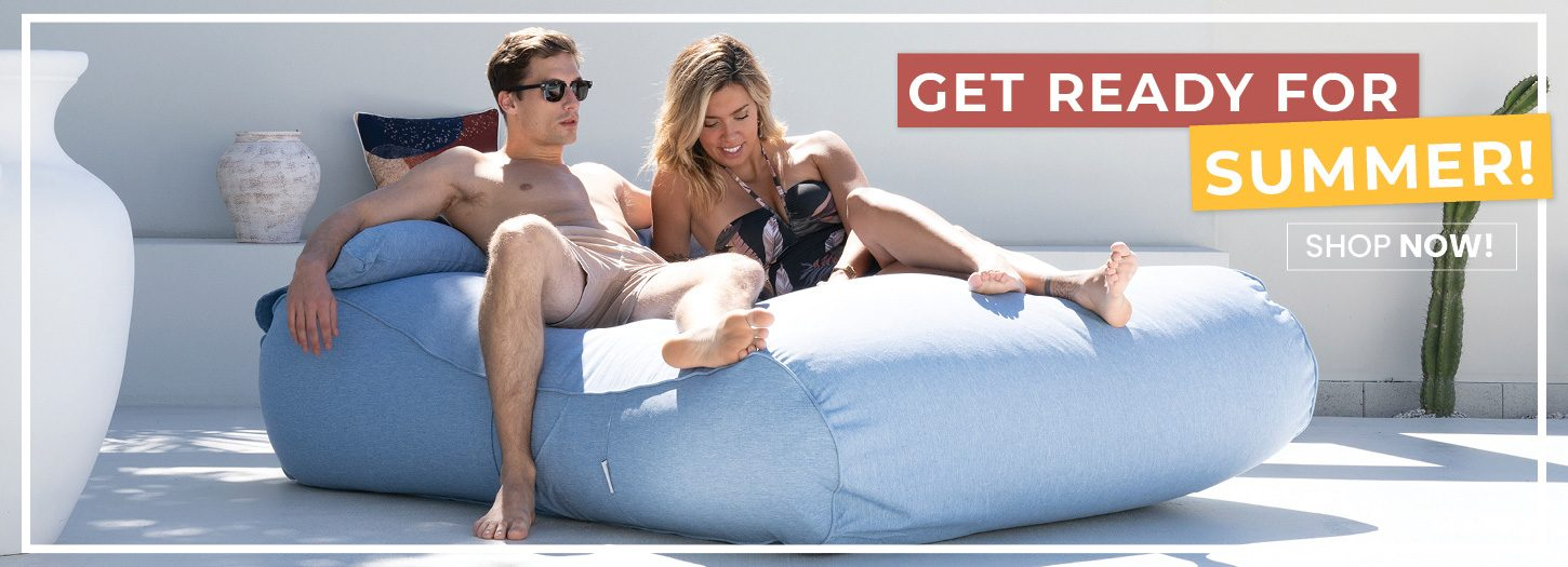 Summer Bean Bags and Poolside Loungers | Mooi Living